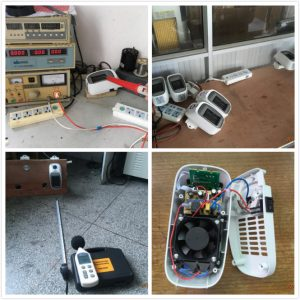 Fan Heater Quality Control Inspection Service