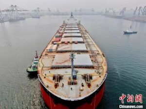 The Port of Yantai in Shandong province has become a new growth point for the Belt and Road Initiative