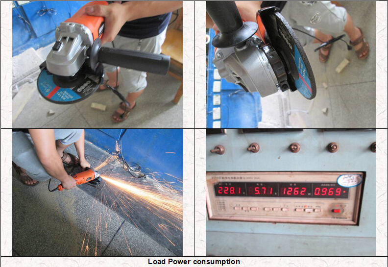 Load Power consumption - Power tools quality control
