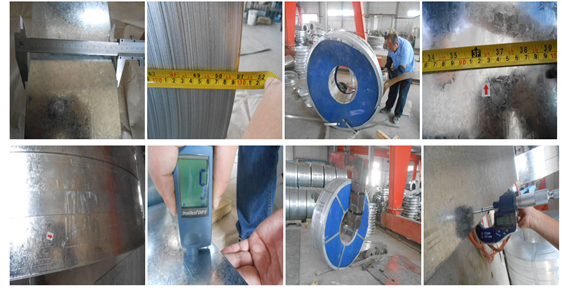 Steel coil inspection:stainless steel coil,galvanized Steel coil