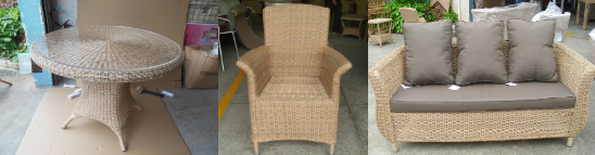 Outdoor furniture inspection:SUNBED,LOUNGER, rattan sofa,chair,table