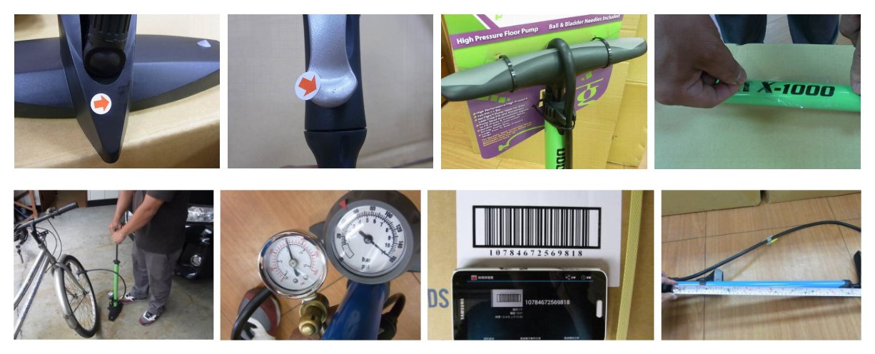 Bike Pumps inspection:hand air,automatic inflatable ball pump