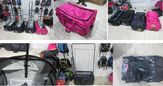 travel bag inspection: luggage, trolley luggage quality control