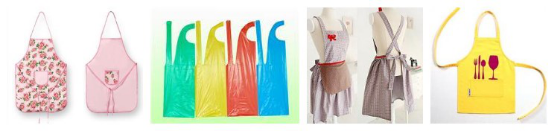 Aprons inspection-aprons quality control:kids,waist Bib qc