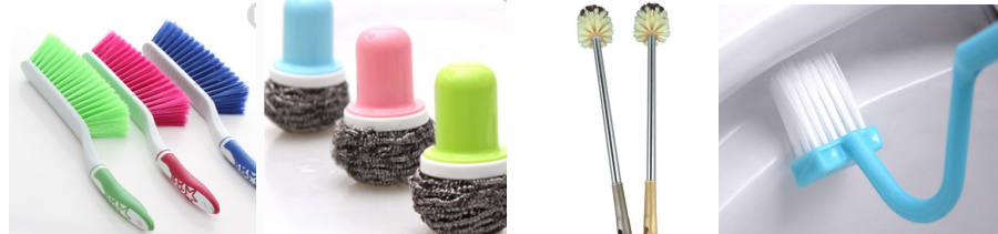 Cleaning brush inspection-cleaning brush quality control:Dust brush,Tableware brush,
