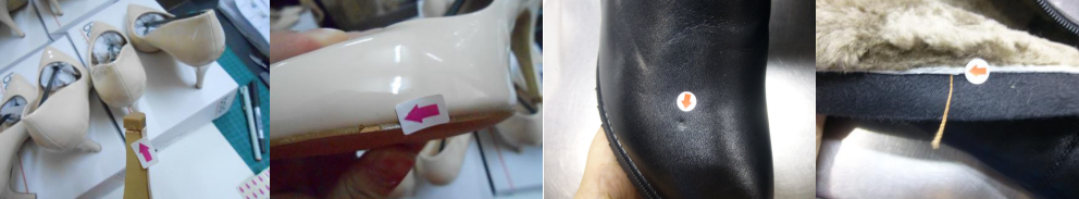 shoes defects -shoes inspection footwear quality control