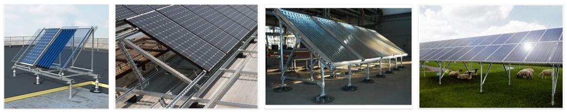 Solar panel support inspection