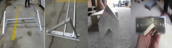 solar mounting frame QUALITY CONTROL