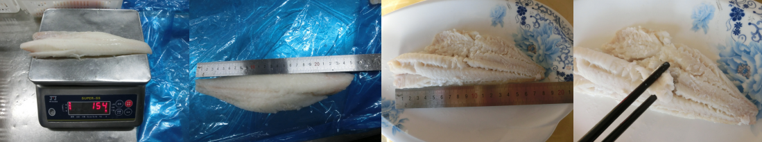 Frozen fish quality control